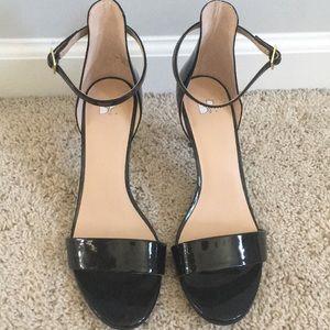 Black Strappy BP (Nordstrom Brand) Heel
